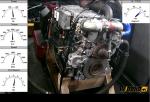 Die Reparatur des Motors Liebherr D 916 T