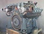 Remont silnika Liebherr D 9508 A7