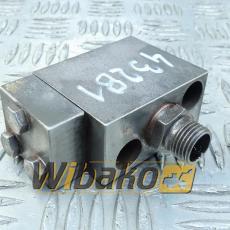 Adapter przewodu olejowego turbosprężarki Liebherr D9408 TI-E A3 9884730